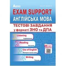 ЗНО 2019 Exam Support Англійська мова Тестові завдання у форматі ЗНО та ДПА Євчук О., Доценко І. Вид-во: Абетка