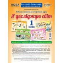 Я досліджую світ Комплект плакатів 1 клас НУШ Бардакова Ю. Вид-во: Основа