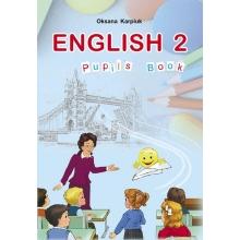 Підручник Англійська мова 2 клас English 2 Карп'юк О. Вид-во: Астон