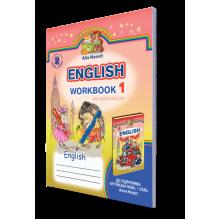 Зошит з англійської мови 1 клас Несвіт Алла English Workbook 1 We Learn English Nesvit Alla  1 клас Вид-во: Генеза